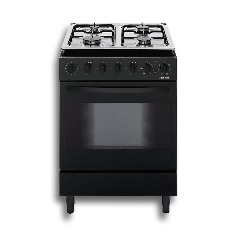 Jollynox 1cc60m7n cucina combinata 60 nero storeincasso - Carrello cucina nero ...