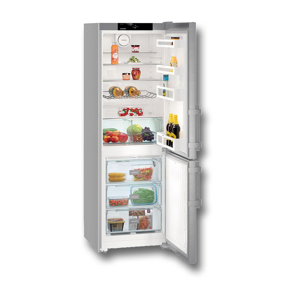 liebherr cnef 3515 frigo combinato a inox storeincasso. Black Bedroom Furniture Sets. Home Design Ideas