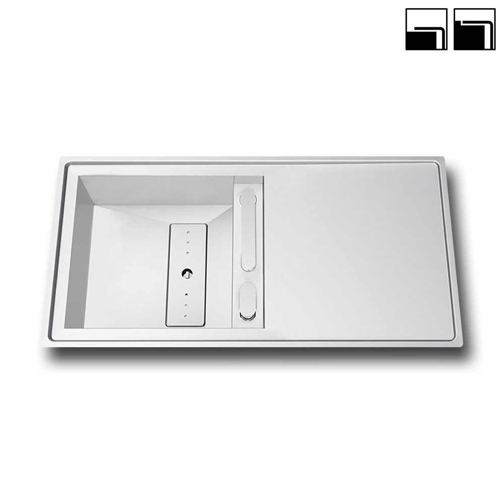RODI INVISIBLE 105R Lavello ELITE / Inox