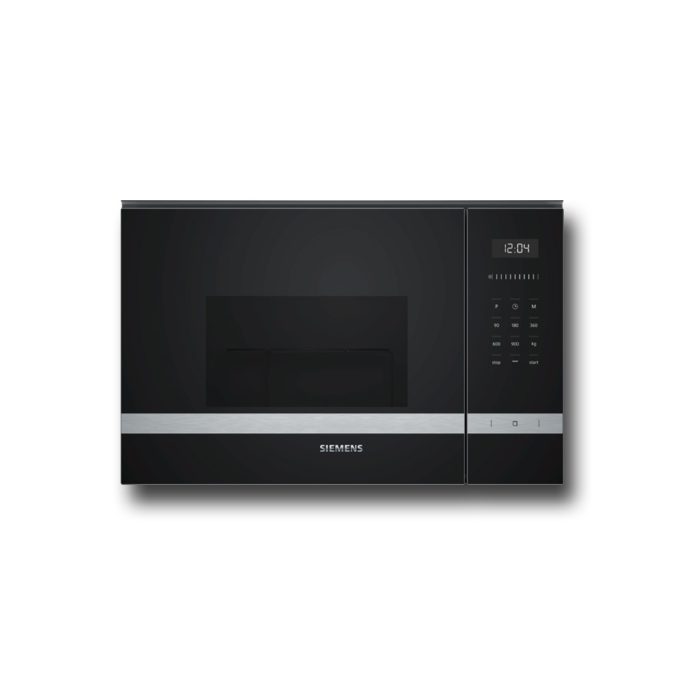 SIEMENS BE555LMS0 MicroOnde con Grill / Nero