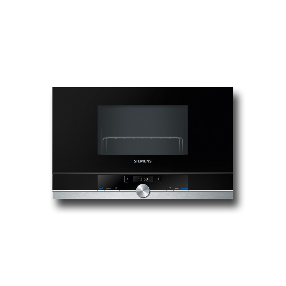 SIEMENS BE634LGS1 MicroOnde Con Grill / Nero.Dx