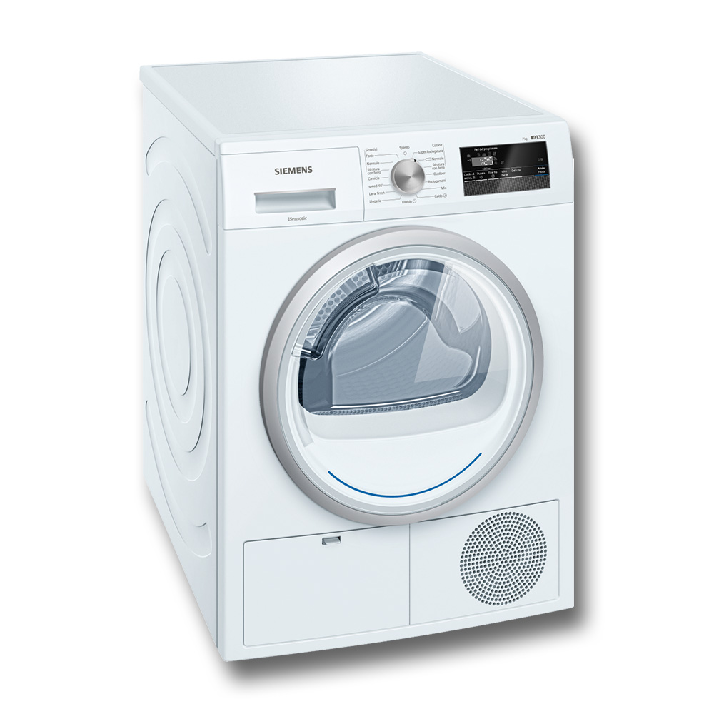 SIEMENS WT45H207IT Dryer 7K A++ / Bianco